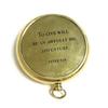 Engraved Compass - Peter Pan