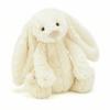 cream colored stuffed bunny