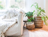 Plant Kindness Gather Love jute basket