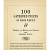 100 gathered thoughts notepad - good advice