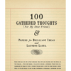 100 gathered thoughts notepad - for my dear friend