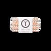 Millennial Pink teletie hair tie pack of 3