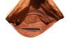 marlin 100% leather wristlet interior