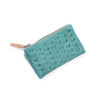 turquoise leather wallet