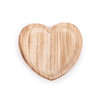 large heart wood tray
