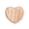 large heart wood tray