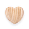small heart wood tray