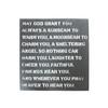 metal sign - may God grant you