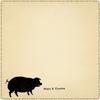 mini hogs & kisses notepad