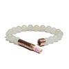 matte light jade wishbead bracelet