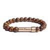 matte tiger eye wishbead bracelet