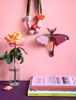 studio roof pink comet butterfly