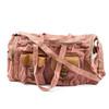 blush washed canvas duffle bag