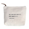 Be In Love zip bag