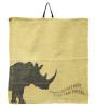 Rhino napkin in beige