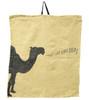 Camel napkin in beige
