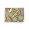 Yellow and Brown Marble Card & Envelopes box