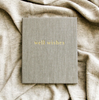 Well Wishes Guest Book - Grey