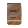Mini William H. Gass Leather Journal