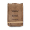 Mini Mary Oliver Leather Journal
