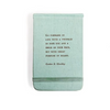 fabric notebook - go forward in life