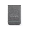 fabric notebook - faith, truth, and love