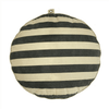 Dog Bed with stripes