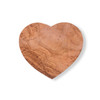 Heart Shaped Olive Wood Board - large