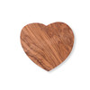 Heart Shaped Olive Wood Board - small