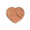Heart Shaped Olive Wood Board - medium