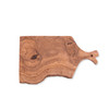 Rectangle Olive Wood Cutting Board with Handle
