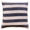 black stripe pillow