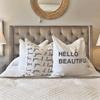 hello beautiful pillow