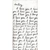 Letter For You art print - both panels
