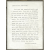 Letter For Sophie art print with greywood frame