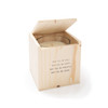 May you be well - Blessing Candle with Engraved Wood Box