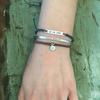 Wearing bracelets