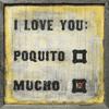 love you mucho art print