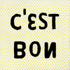 light yellow art prints with black font