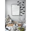 john lennon art print - white with gallery wrap frame