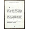 ralph waldo emerson art print - white with grey wood frame