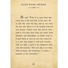 ralph waldo emerson art print - cream with gallery wrap frame