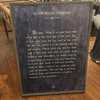 ralph waldo emerson art print - charcoal with grey wood frame