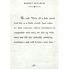 robert fulghum art print - white with gallery wrap frame