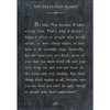 the velveteen rabbit art print - charcoal with gallery wrap frame