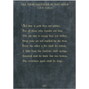all that glitters art print - charcoal with gallery wrap frame