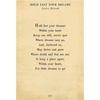 Hold Fast Your Dreams - Poetry Collection