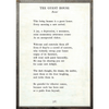 the guest house art print - white with greywood frame