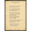 the guest house art print - cream with greywood frame