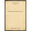 custom book collection art print - cream